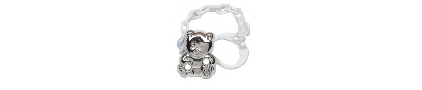 STERLING SILVER PACIFIER PINS